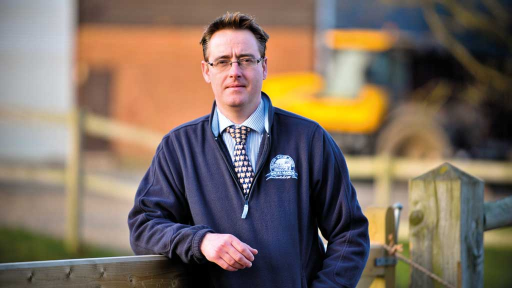 Fergus Howie runs Wicks Manor Farm's export business.