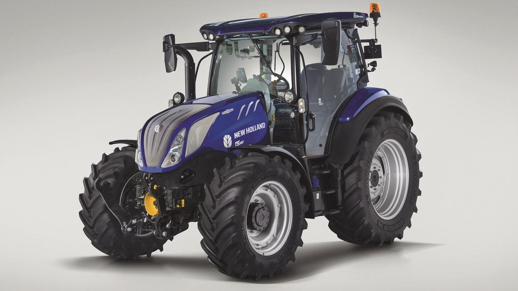 New Holland launches CVT T5 tractor range