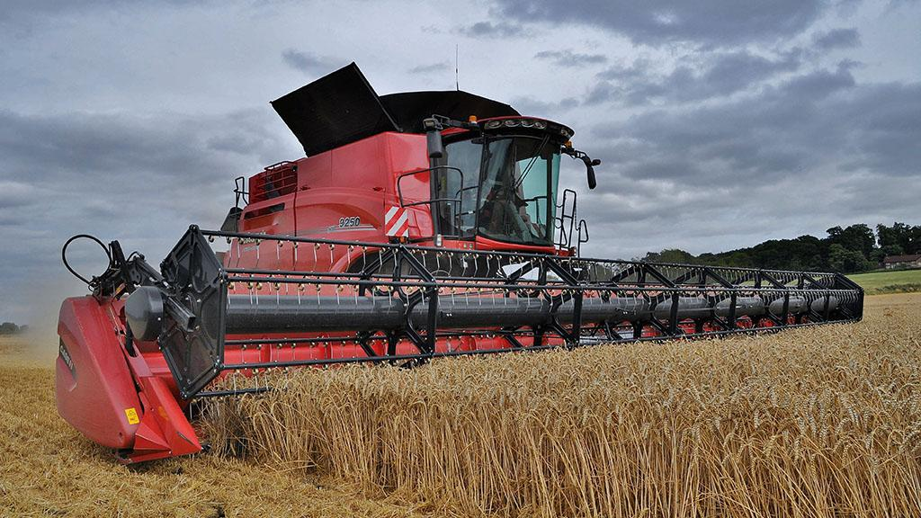 Operator compares clever Case IH 250 Series Axial Flow combines