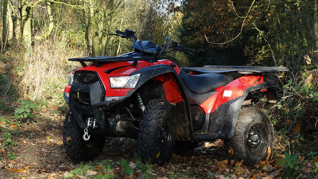 On-test: Kymco - the experienced new entrant in the ATV league tables