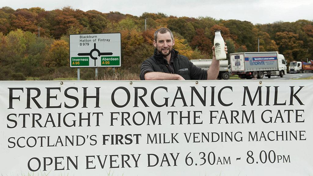 Dairy special: Transformation key at Scotland's first organic dairy farm