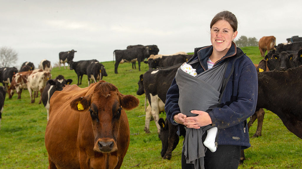 Backbone of Britain: Promoting women in farming - 'I hate stereotypes like woman are better at calf rearing'