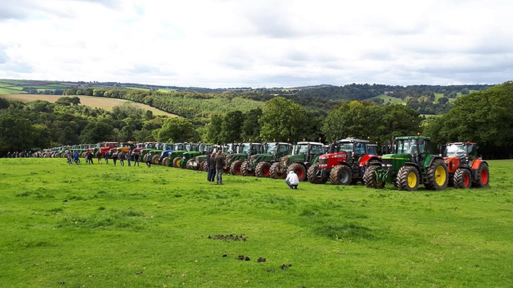 VIDEO: Farmer remembered at one of Cornwall's biggest ever tractor runs