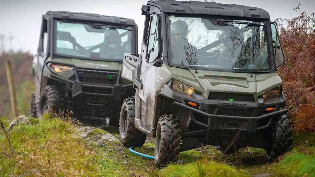 Head-to-head: Polaris Ranger UTVs' power put through its paces