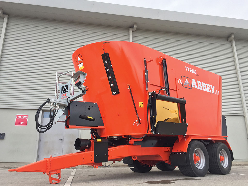 Abbey Machinery beefs up mixer wagon