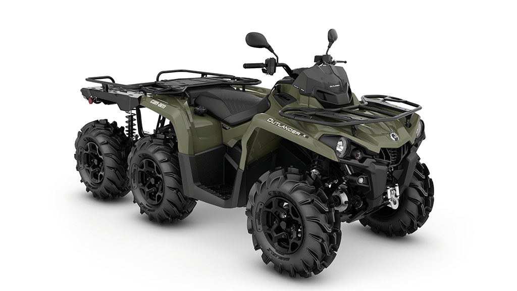 Can-Am six-wheel drive ATV development