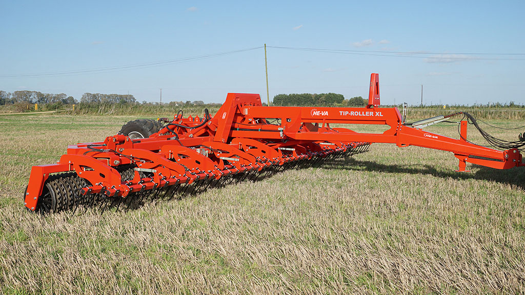 He-Va straw tine option