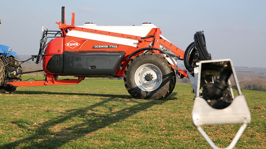 Kuhn adds new sprayer models