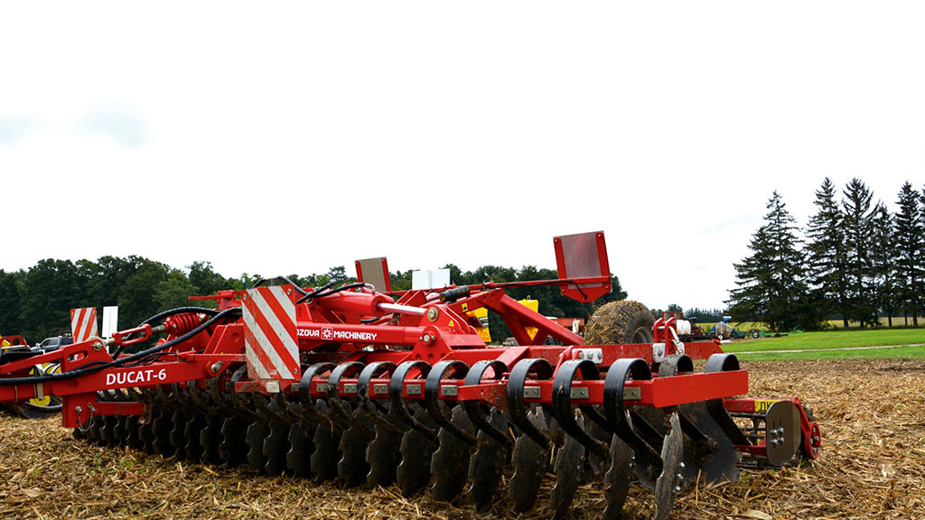 Lozova Machinery reveals short disc harrow