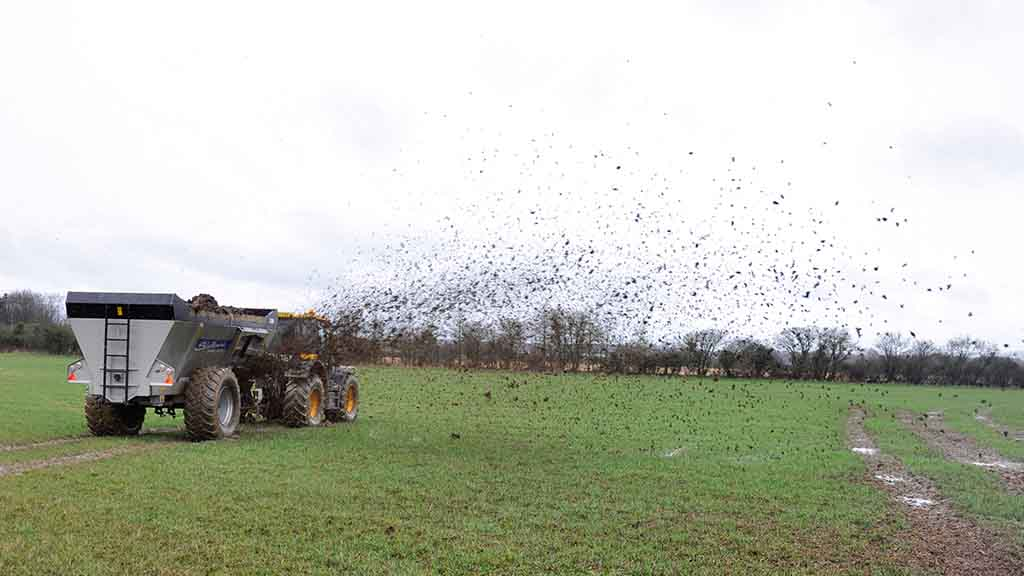 Muck & slurry special: A sideways look at spreading