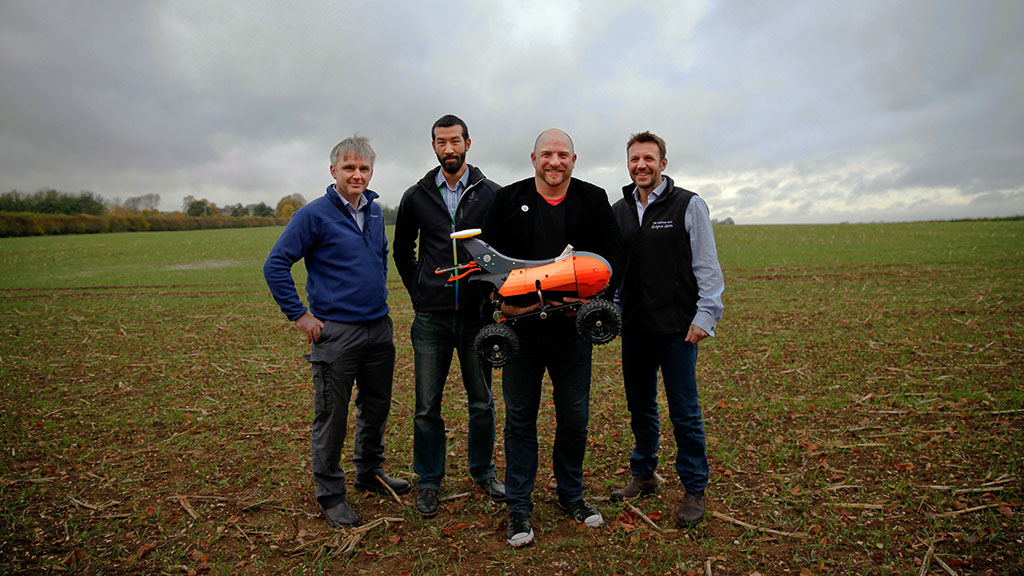 Waitrose teams up with farmbots to 'boost productivity and increase accuracy' of crops