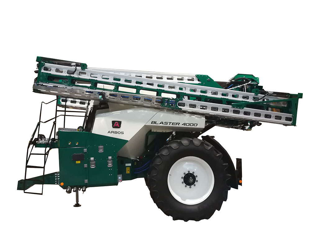 Arbos gained a bronze medal for its Blaster sprayer. Setting it apart from other trailed sprayers on the market is the location of its articulation pin, which sits close to the axle, rather than the drawbar. This is said to provide more accurate applicati