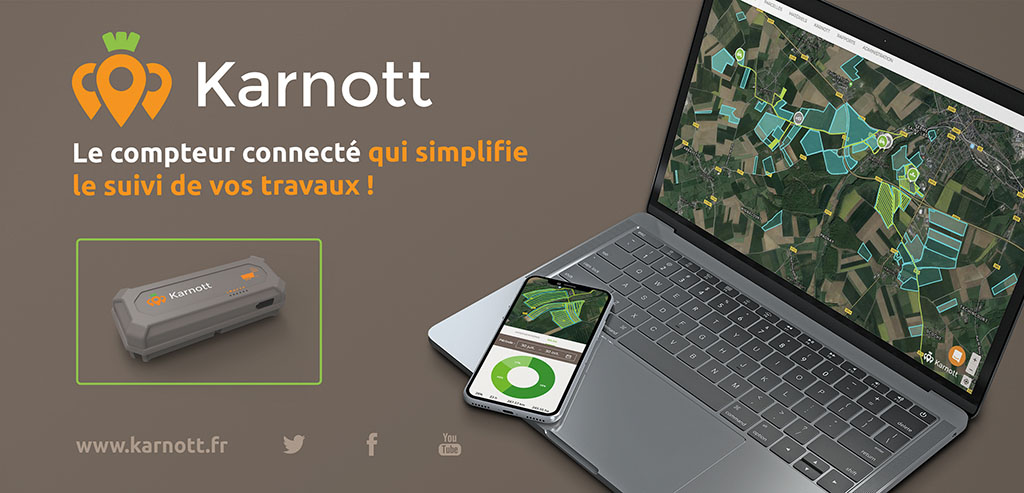 Winning a bronze medal for its data collecting device was Karnott. Designed with co-operative farming agreements in mind, the system is attached to machinery that is shared between multiple farms. It records and produces a detailed breakdown of where the