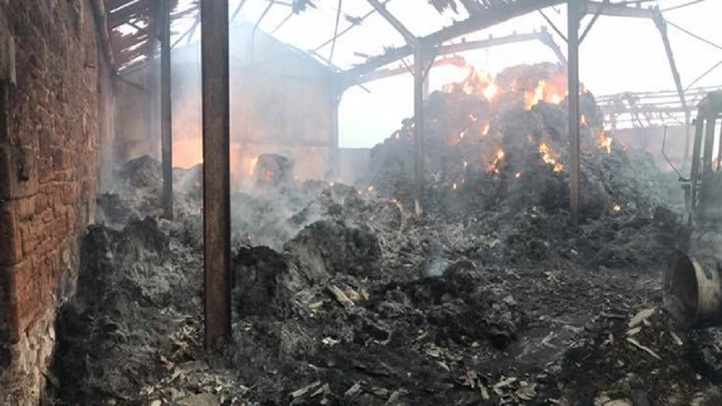 'A lifetime of hard work gone' - farm destroyed by fire as claims rise in 2018