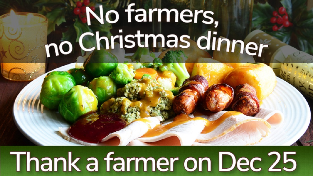 No farmers, no Christmas dinner: The history of your festive feast