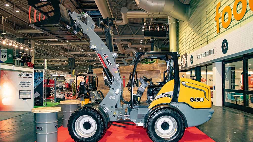 Tobrocco Giant G4500 loader