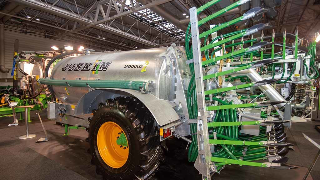 Lamma Show 2019: Latest muck and slurry equipment developments