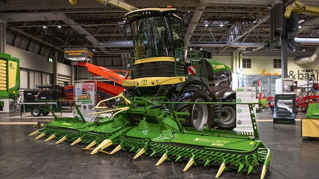 Lamma Show 2019: Forage, feeding and bedding equipment updates