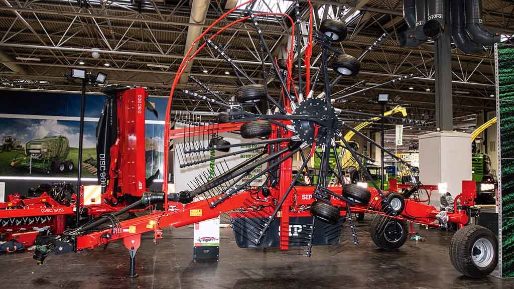SIP Star 1000/30T two rotor rake