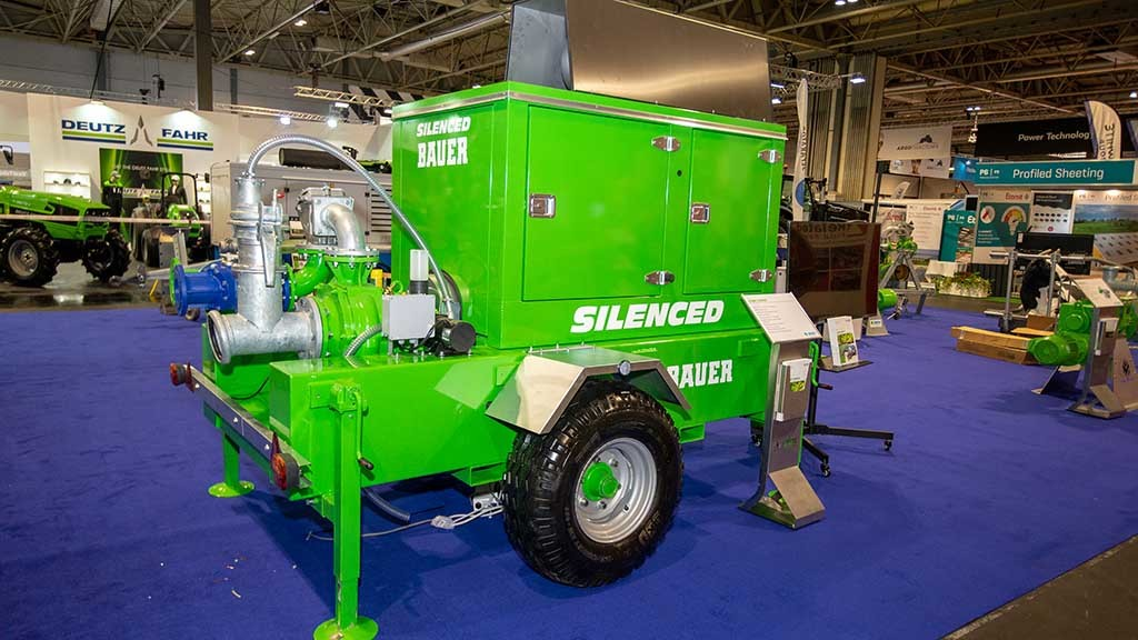 Bauer SX2000 slurry pump