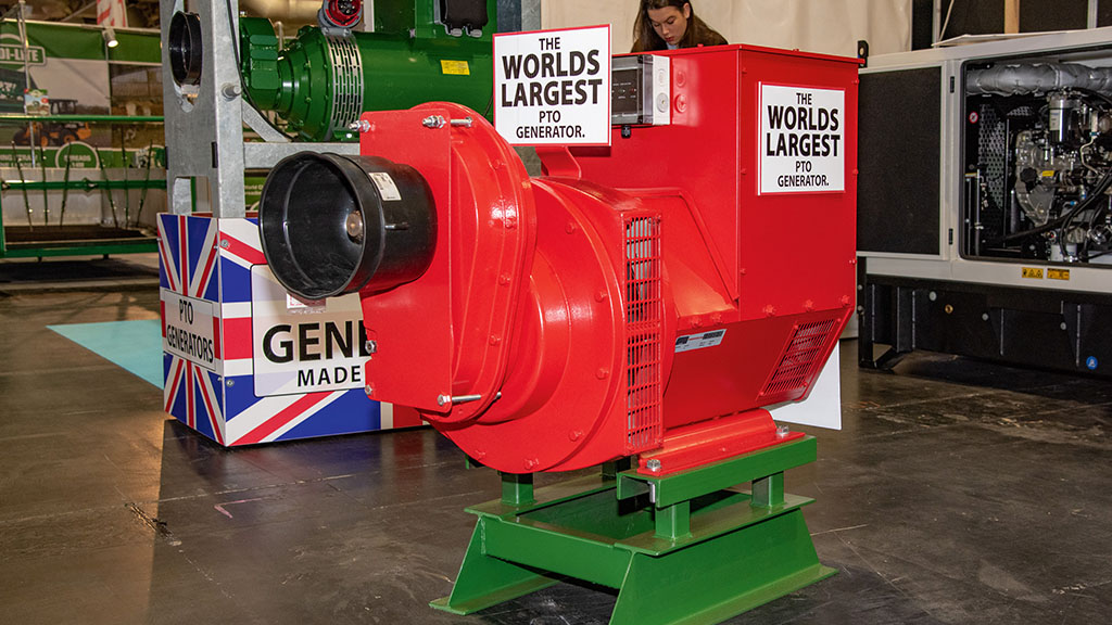 P Cowell and Sons PTO-powered generator