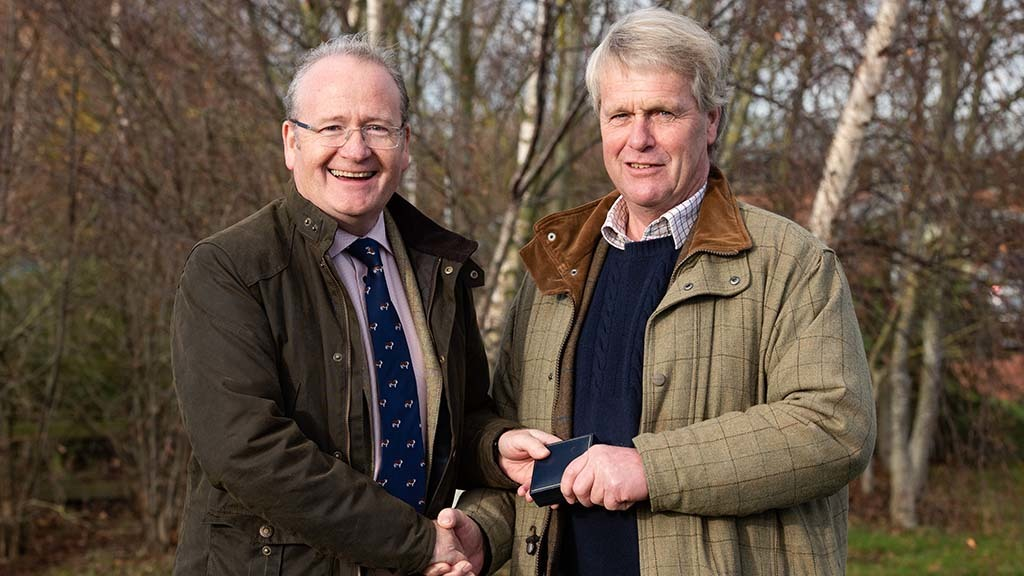 Des Kelly appointed president of Hereford Cattle Society