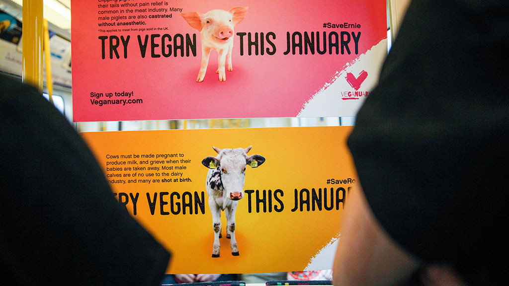 Veganuary campaign should be UK agriculture's marketing catalyst