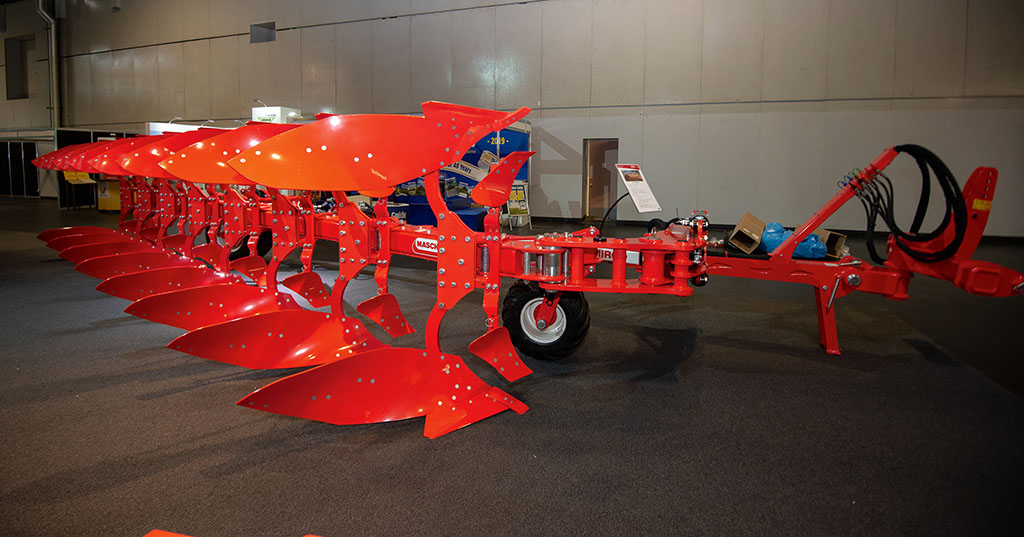 Maschio Mirco semi-mounted plough