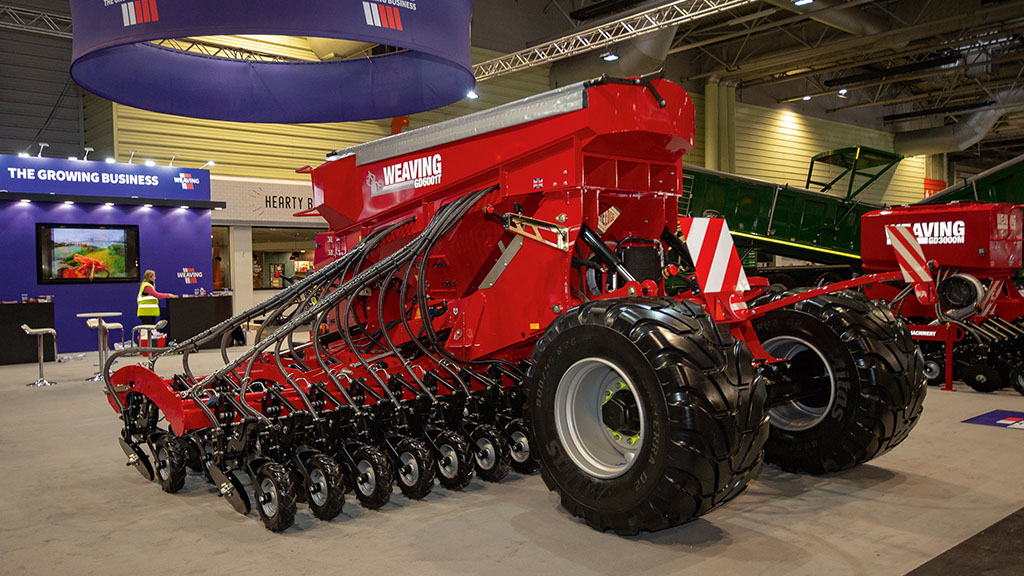 Weaving GD6001T seed drill