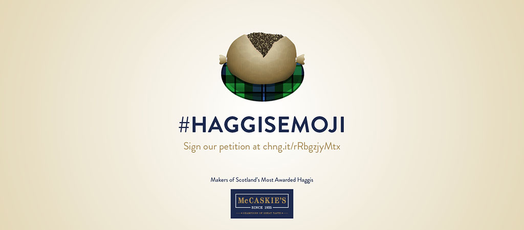 Scottish butcher launches campaign for haggis emoji to celebrate Burns Night