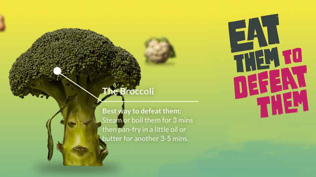 New campaign launched to inspire British kids to eat more vegetables