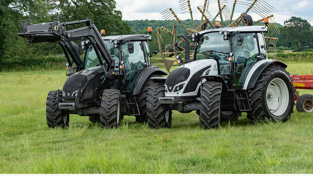 A variety of silaging duties revealed the capabilities of Valtra's new A Series tractors.