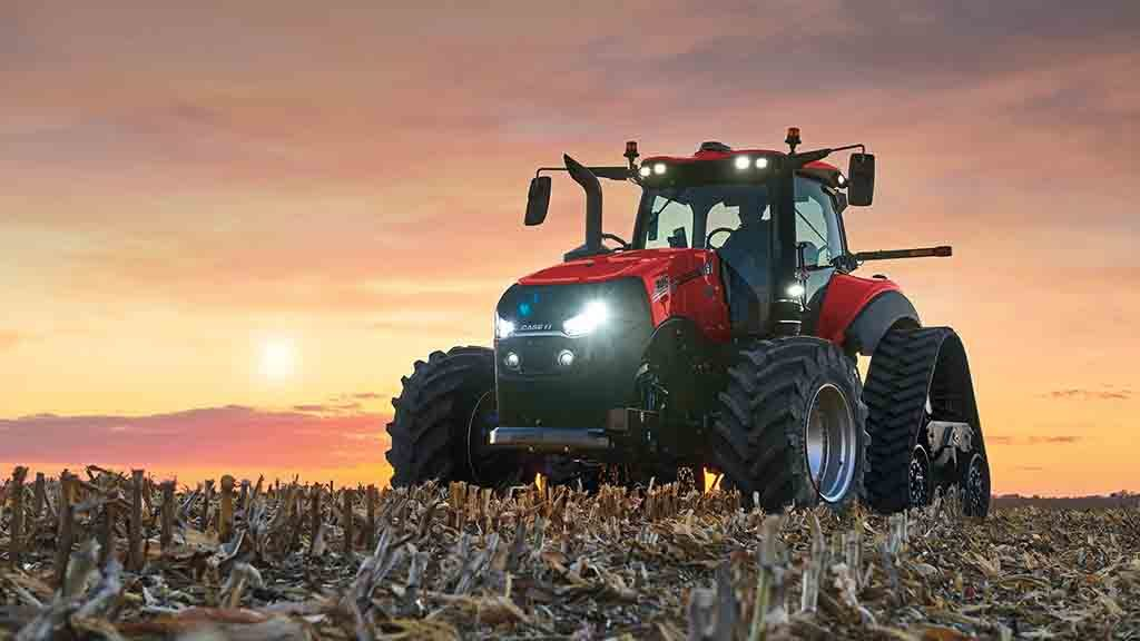 CNH revamps its Case IH Magnum and New Holland T8 with more technology