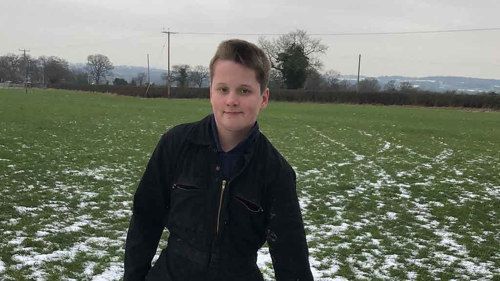 Young farmer whose flock was wiped out by thieves gifted sheep by generous farmers