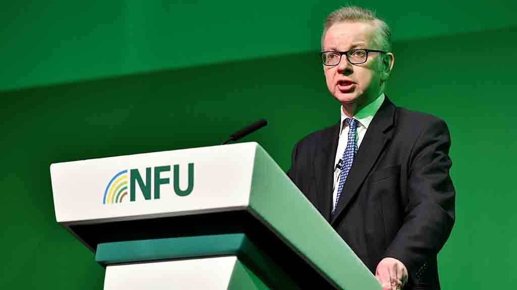 Farmers braced for upheaval as Gove bids to become Prime Minister