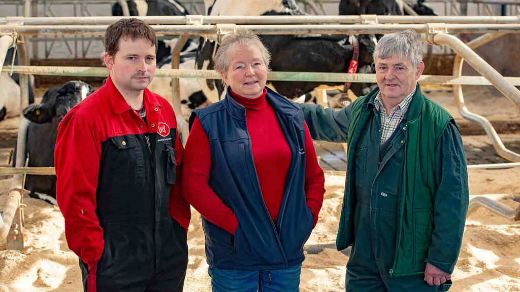Dairy special: Robots allow family's dairy business to continue