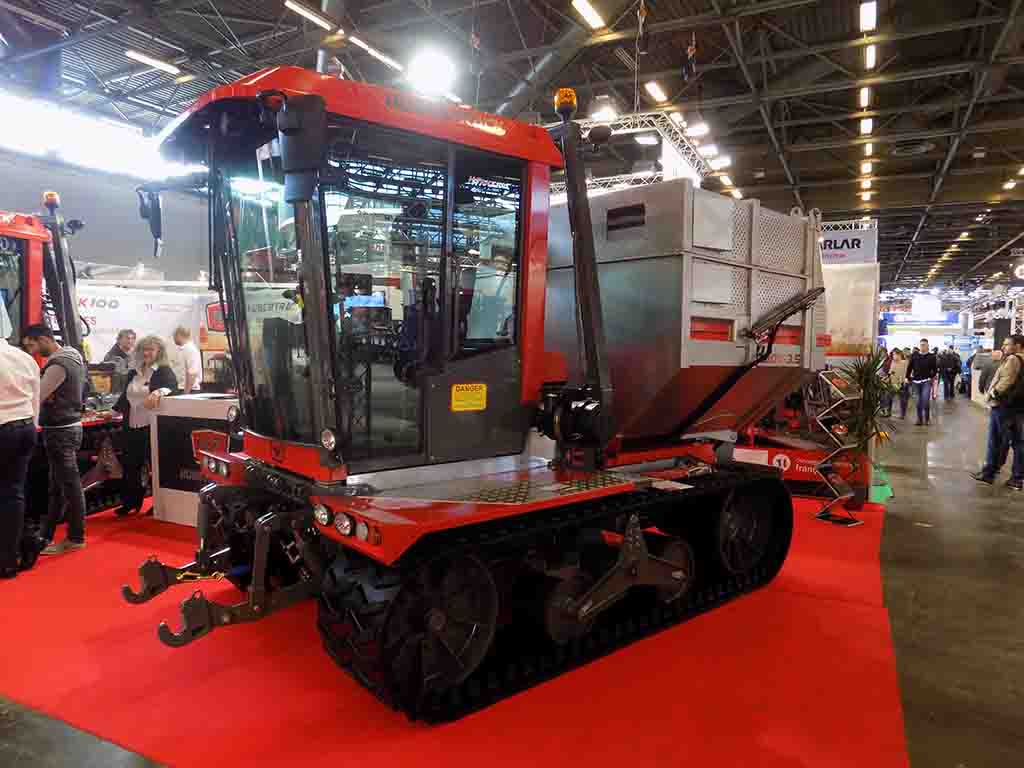 Hubertrack HH Track 100 tool carrier