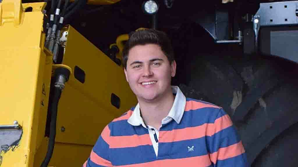 Young Farmer Focus: Harry Goring - 'I have had a passion for farming from a young age'