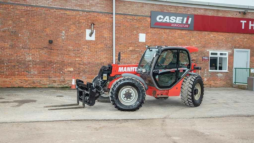 A used telehandler can prove a canny buy.