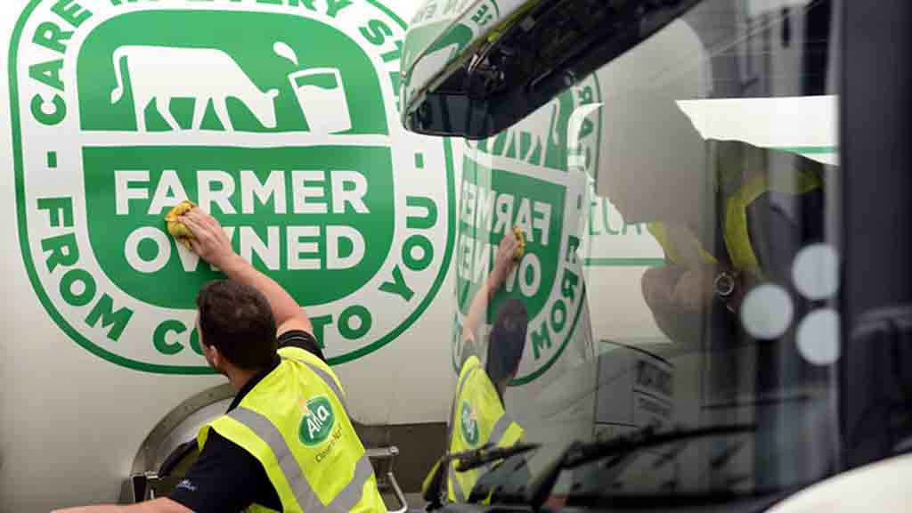 British Arla dairy farmers to receive £64m year-end bonus