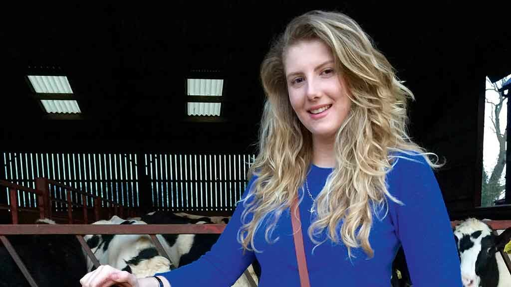 Young Farmer Focus: Katie Robson - 'Bringing together my love for cows, leather and fashion'