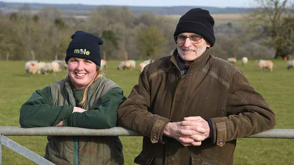 'We are really pleased the farm is continuing to be run by one of the family'