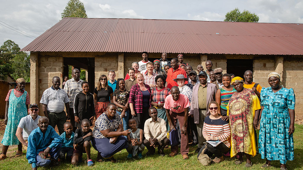 Backbone of Britain: British farmers visit Africa to help Kenyan agriculture thrive