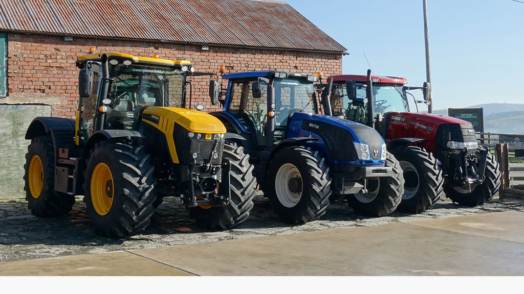High horsepower tractors are gaining in popularity in his area, according to Ryan Martin.