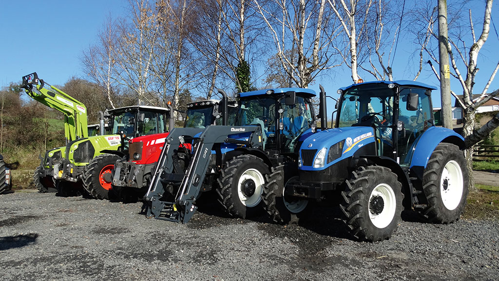 These types of tractors are the ones Ryan Martin says always sell easily.
