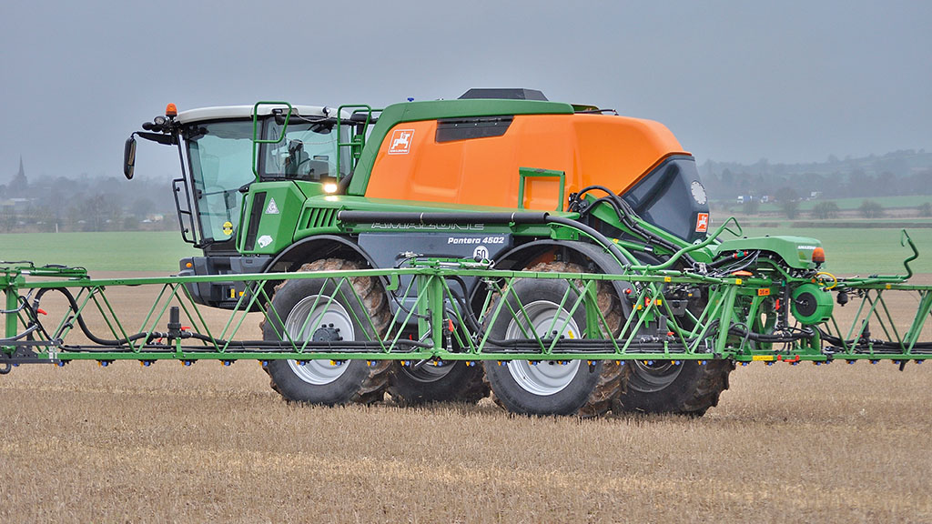 David Moore has sold a number of Pantera self-propelled sprayers since taking on Amazone.