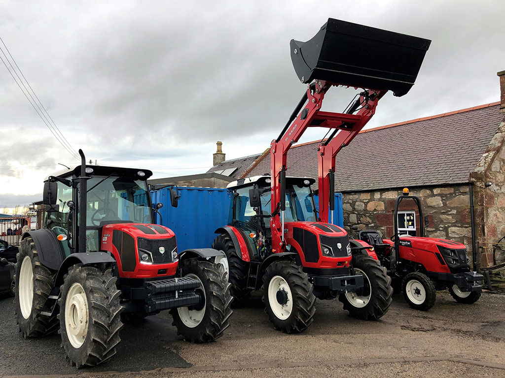 A line-up of ArmaTrac tractors available from AS Tractors.