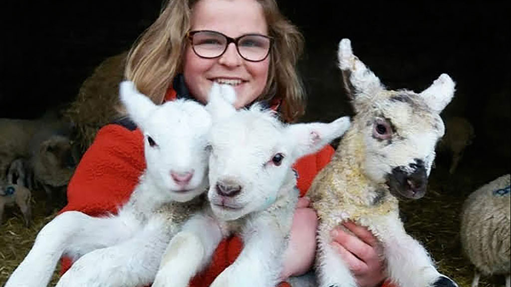 Young Farmer Focus: Rachel Cooper - 'Every day is a new adventure on our clifftop farm'