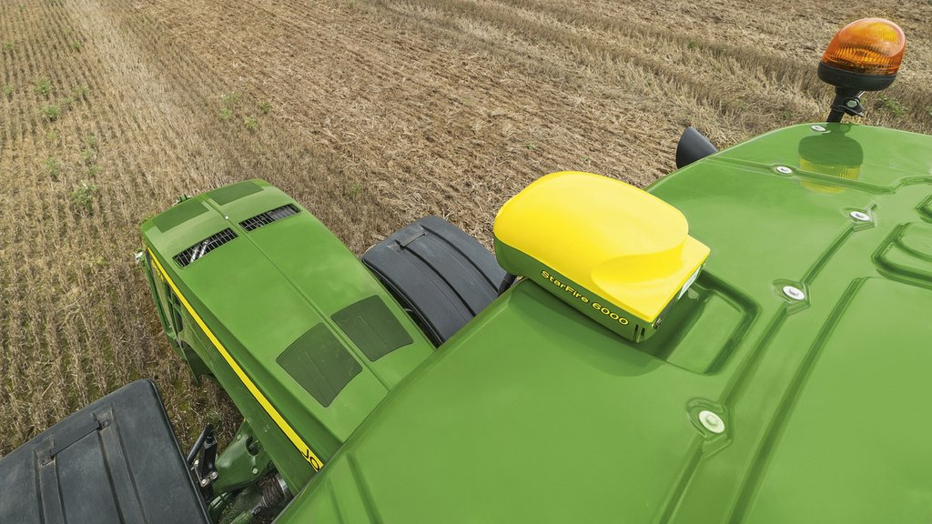 John Deere makes effort to prevent receiver and in-cab display thefts