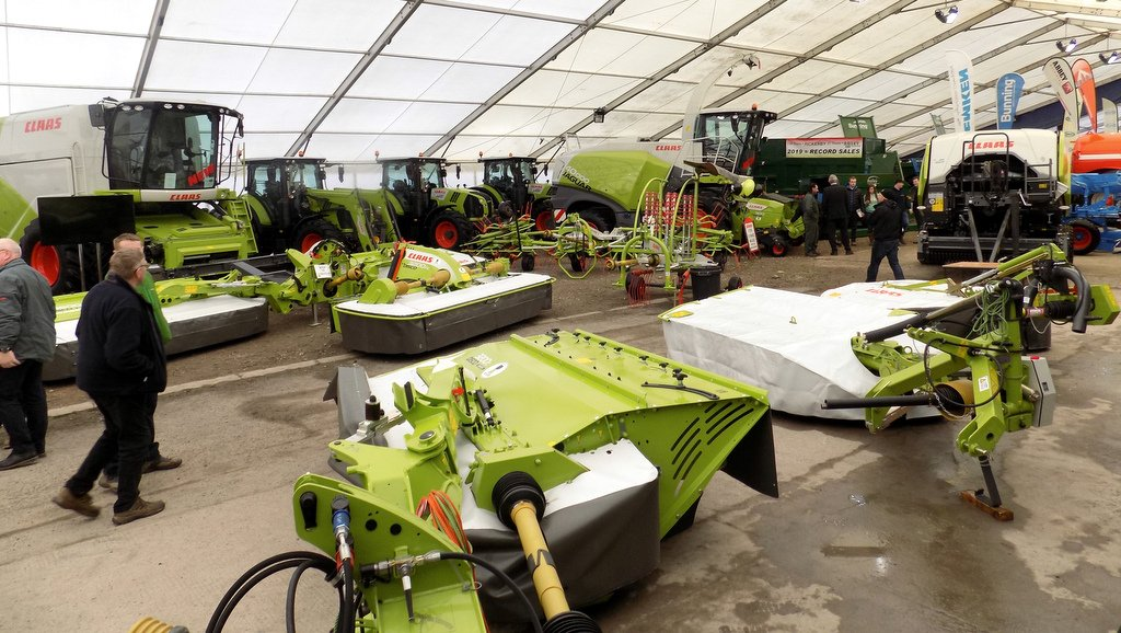 An impressive line-up of machinery greeted visitors at the recent Rickerby Spring Show.